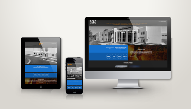 BC Construction Group Website Design