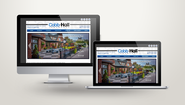 Cobb Hall Website Design