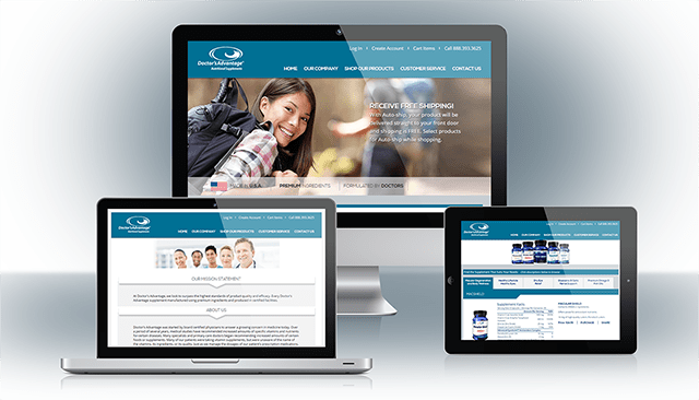Doctor's Advantage Website Design