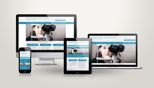 Michigan Lasik Website Design