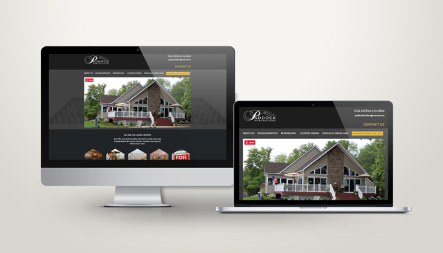 Paddock Builders Website Design